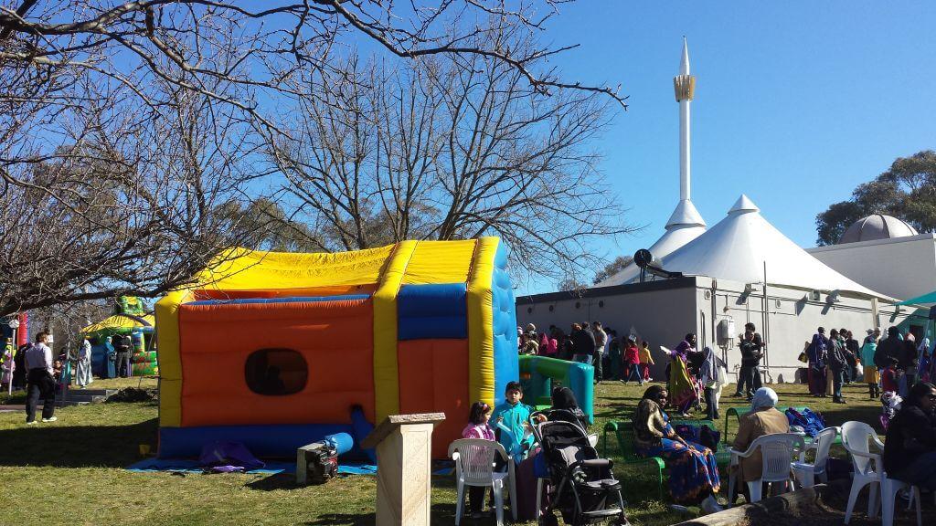 Eid celebration at Canberra Masjid
