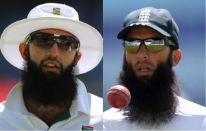 Players to watch: Lookalike Hashem Amla (left) and Moeen Ali (right)