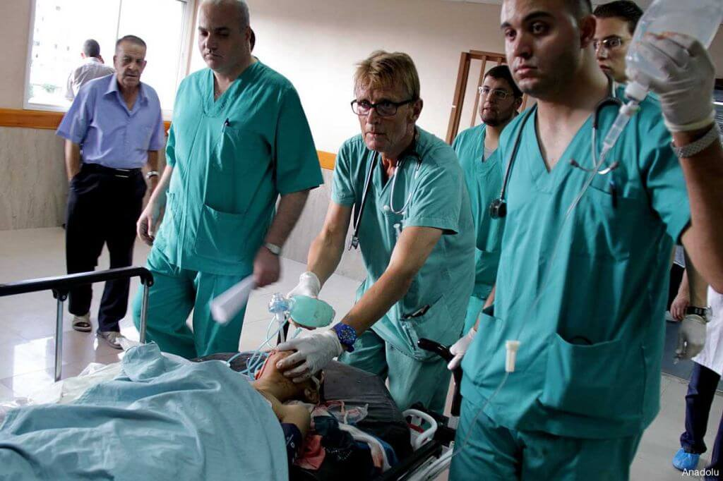 Letter from Gaza by a Norwegian doctor