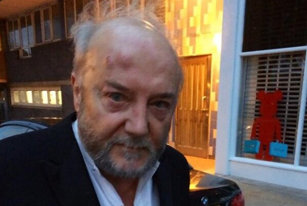 Galloway assaulted by man shouting Holocaust