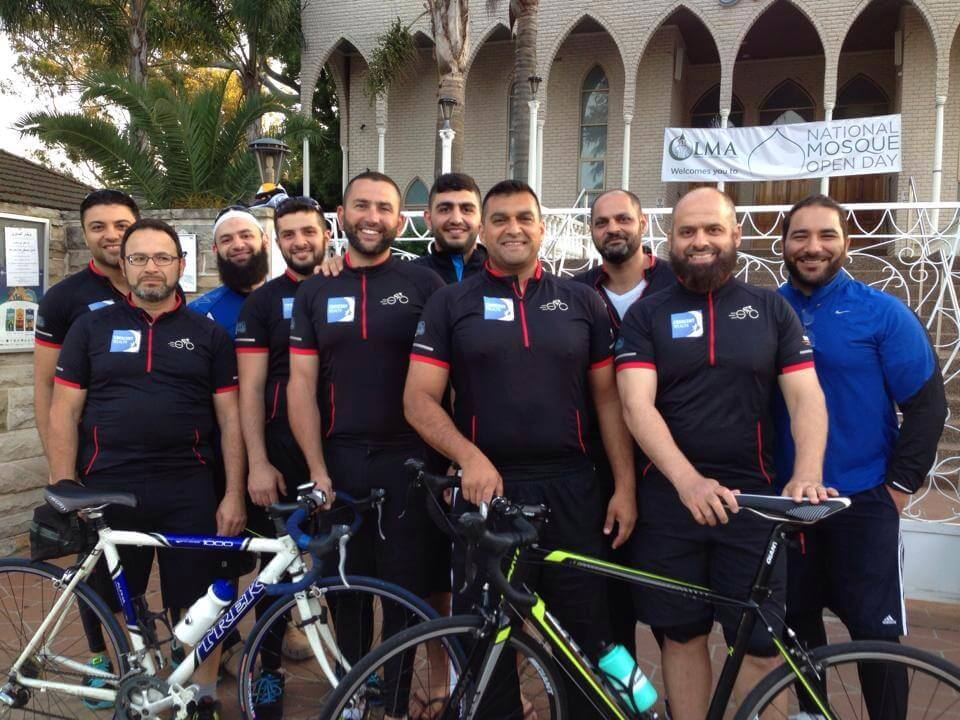 Muslims Cycling for Charity raising tens of thousands of dollars