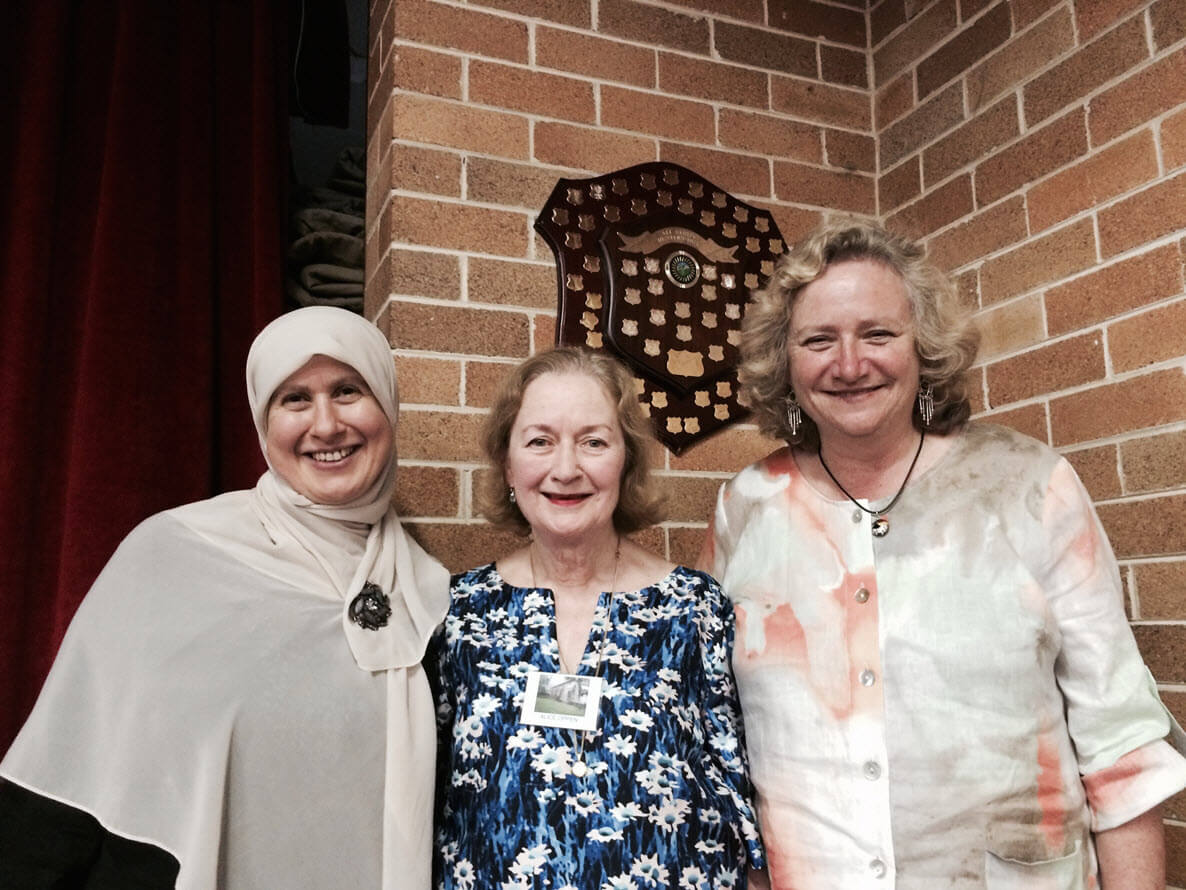 Sharing views on Islam and Australian Muslims