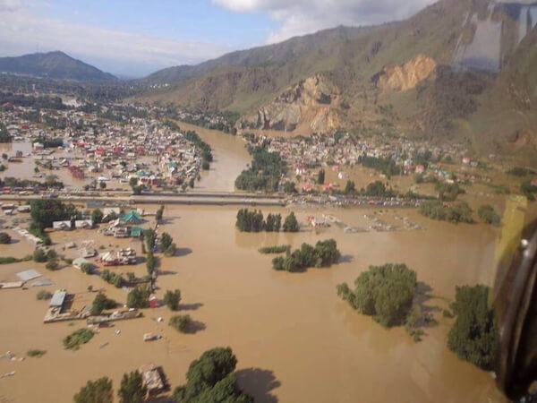 Kashmir under floods: An eye witness report