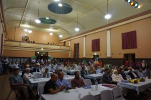 Audience at SS Day 2015 at Granville Town Hall
