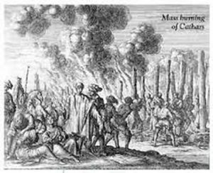 Mass burning at Cathars