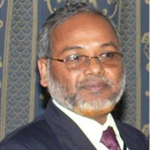 Professor Shahjahan Khan