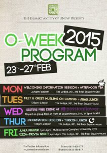 ISOC_O-Week Activity Poster