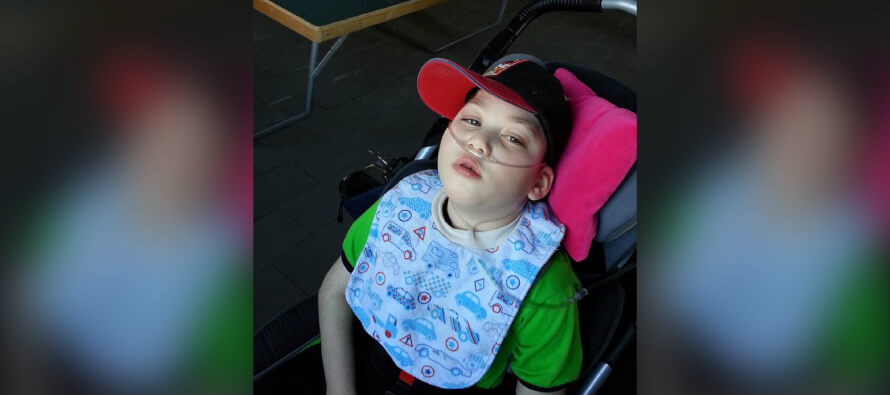 Please help Omar receive a wheelchair van