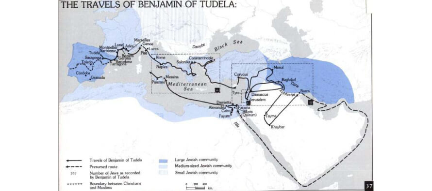 Benjamin of Tudela:  A Medieval Jew and the Muslim World