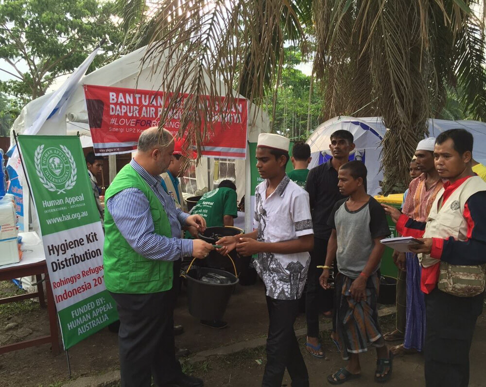 Human Appeal International Australia provides aid to Rohingyan refugees