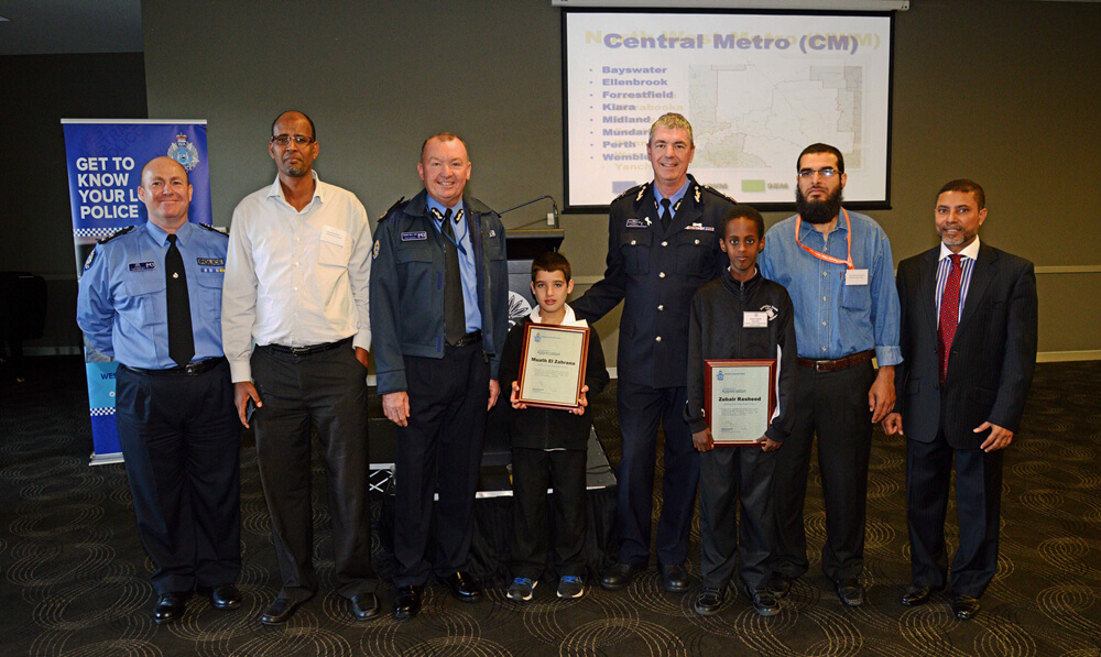 WA Police Commissioner meets with WA Imams and Muslim Community Leaders