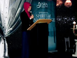 ISRA Iftar dinner, fundraising for university campus.