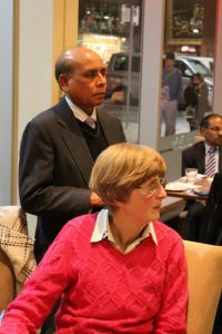 Aussie Forum Executive Committee members Helen Wilson and Mohammed Ali