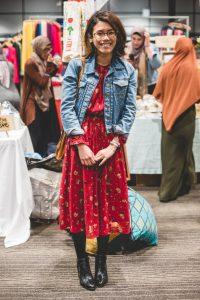 Farisa, 23. work in retail.