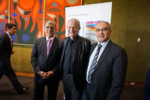 The Hon John Ajaka MP, Rev Bill Crews, Mr Hakan Harman