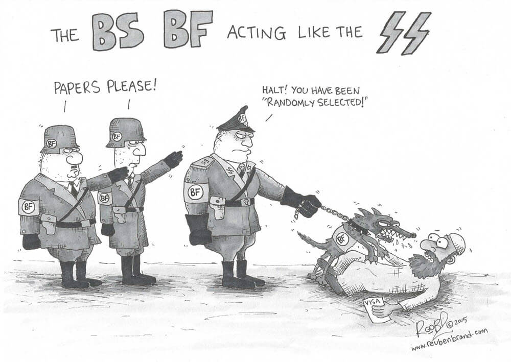 The BS Border Force