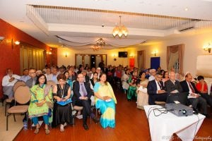 """Audience at the """"Beyond the Dreams"""" literary event in Sydney."""