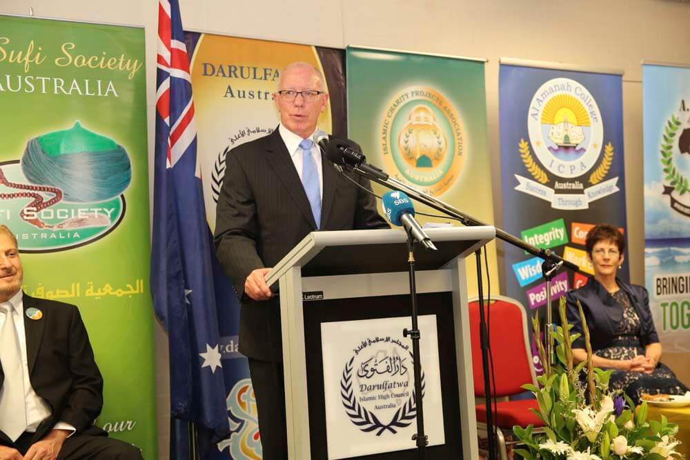 The Governor General of NSW, The Honourable David Hurley