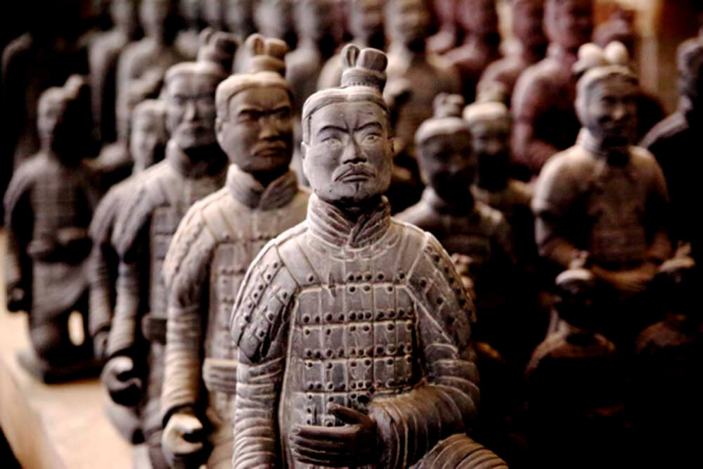 Terracotta Warrior Figurines.