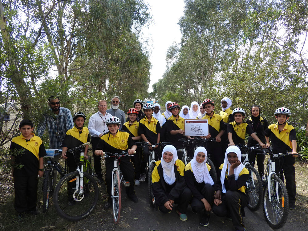 B4H project: Cycling for humanity