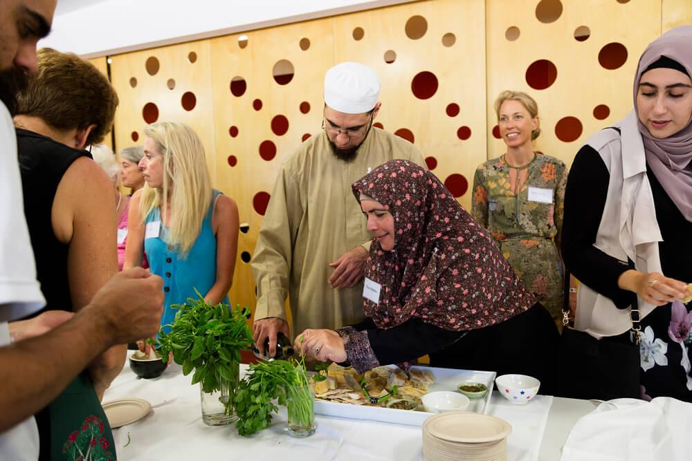 Interfaith garden for food sustainability