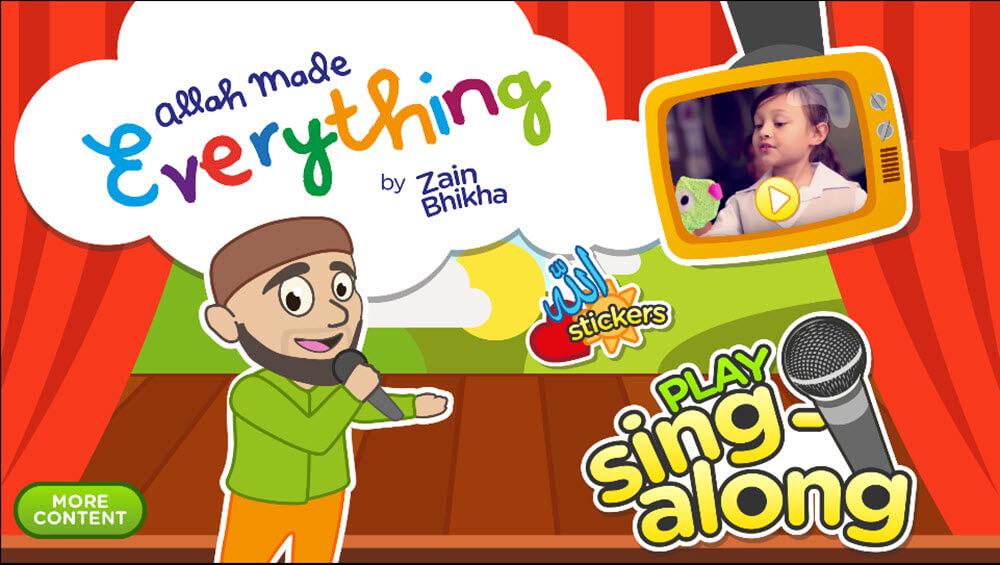 App: Zain's Sing-Along