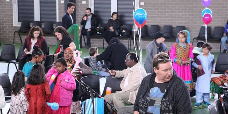 Molonglo residents come together to celebrate Eid
