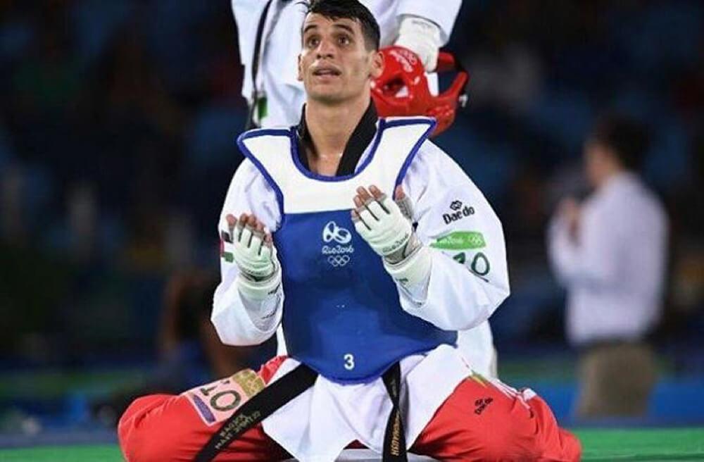 Ahmad Abughaush won Jordan's first gold medal.
