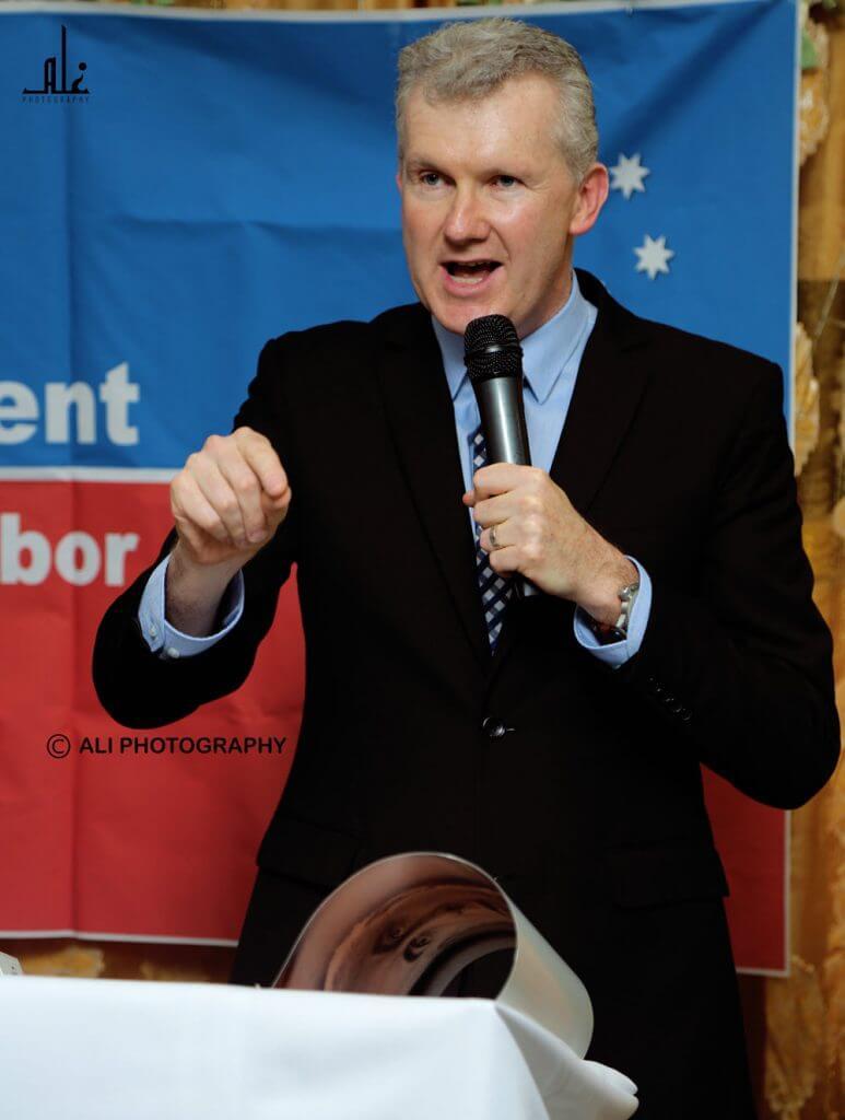 Tony Burke MP. Photo: Ali Photography.