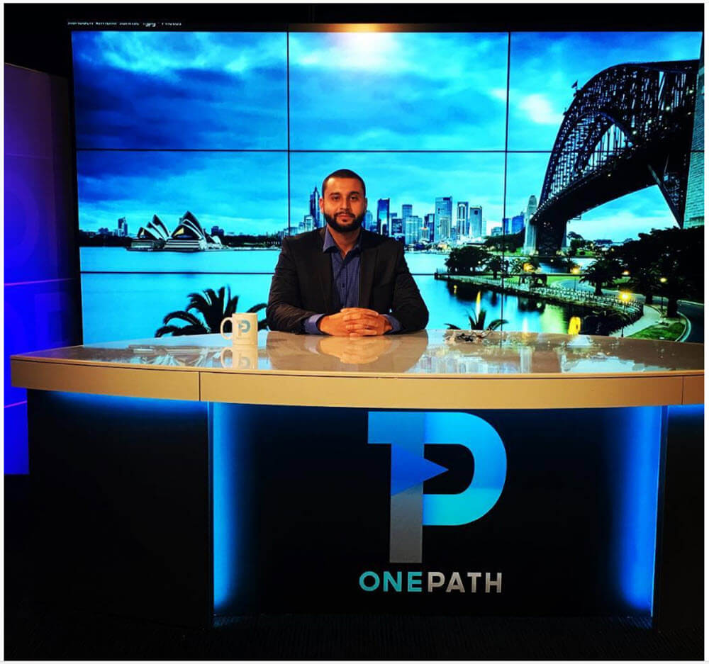 Ahmed Bassal, OnePath General Manager at the OnePath news desk.