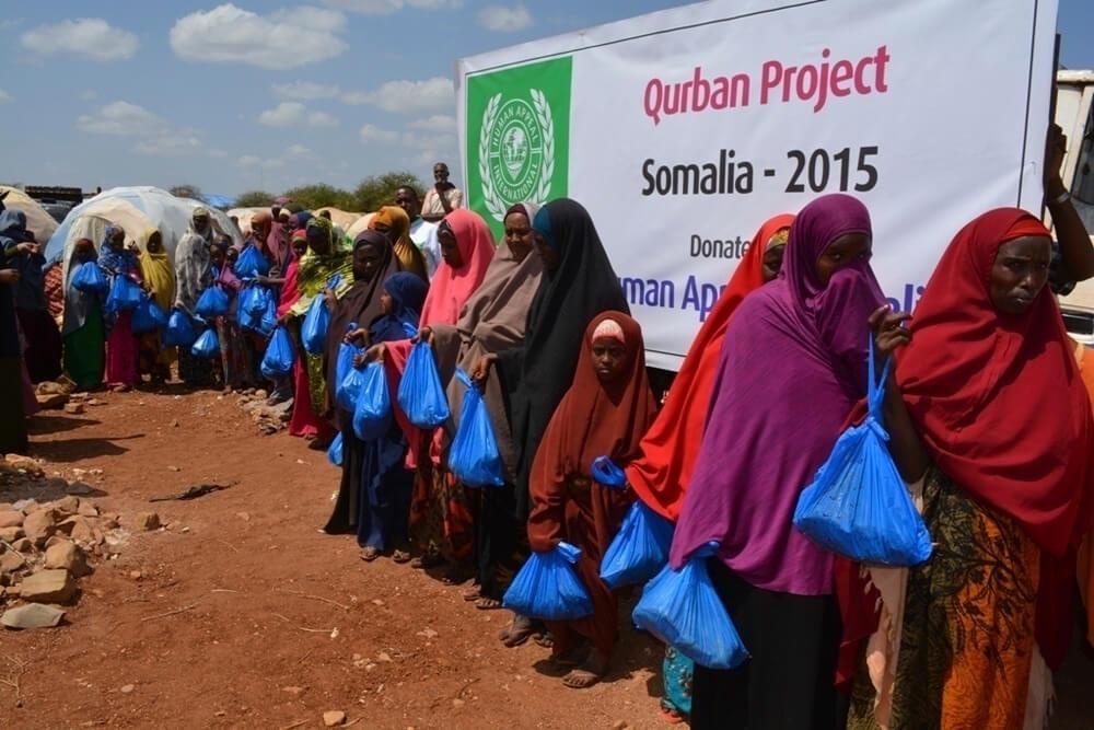 Somalia HAIA Qurban meat  2015