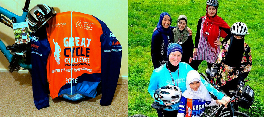 Great Cycle Challenge 2016: Fighting Cancer