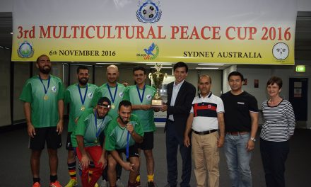 Iraqi Team wins Multicultural Peace Cup