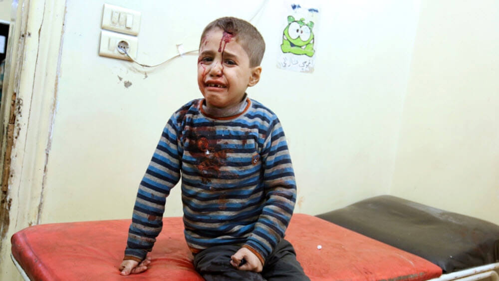 Aleppo residents continue to suffer due to fighting