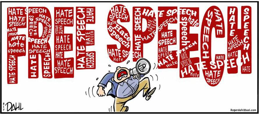 More 'Freedom of Speech' to harass minorities