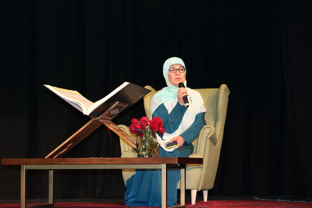 Hajjah Maha Abdo, CEO of the Muslim Women's Association.