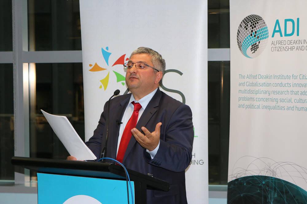 Professor Ihsan Yilmaz.