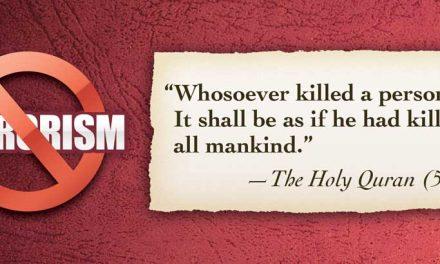 Terrorism: non-Islamic and non-negotiable