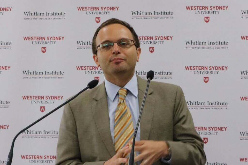 Mr Selim Ariturk, Public Affairs Officer, Consulate General of the USA, Sydney.