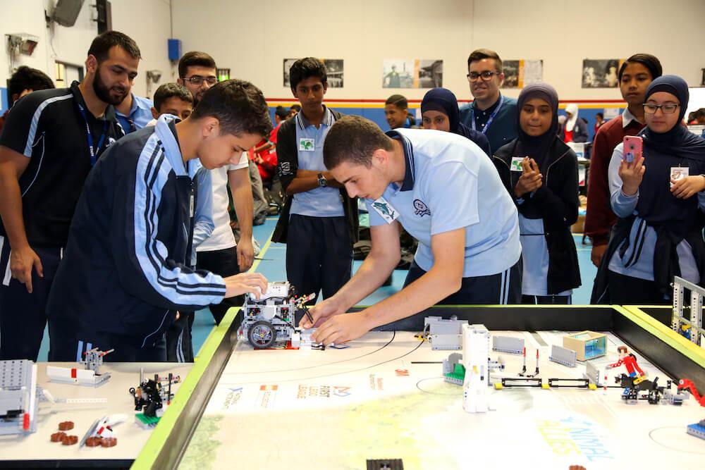 Unity Grammar representing Australia in World Robotics
