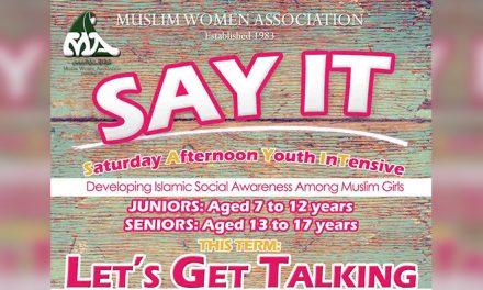 Muslim Women Association running SAYIT 2017