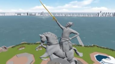 Shivaji statue to beat Taj Mahal