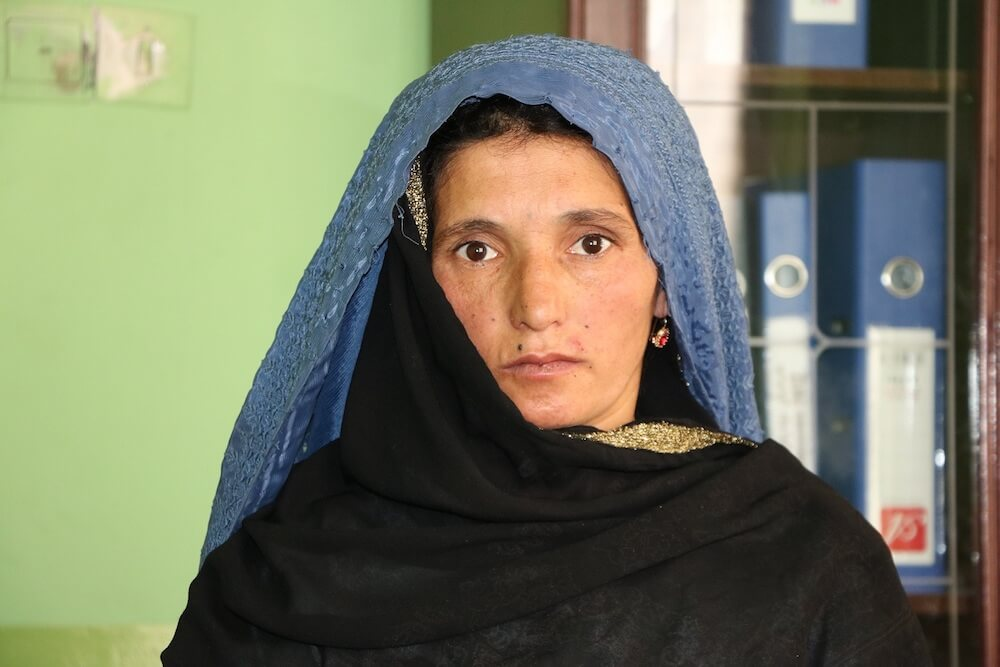 Kobra, mother of six, lost her eight-year-old son to the cold.