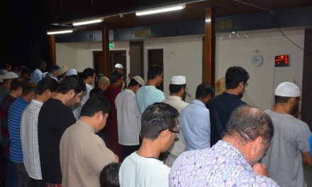 First Juma at Armadale Mosque