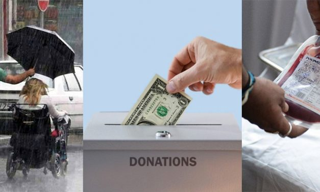 Towards generosity, charity and volunteering