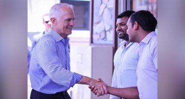PM visits Toowoomba Primitivo restaurant