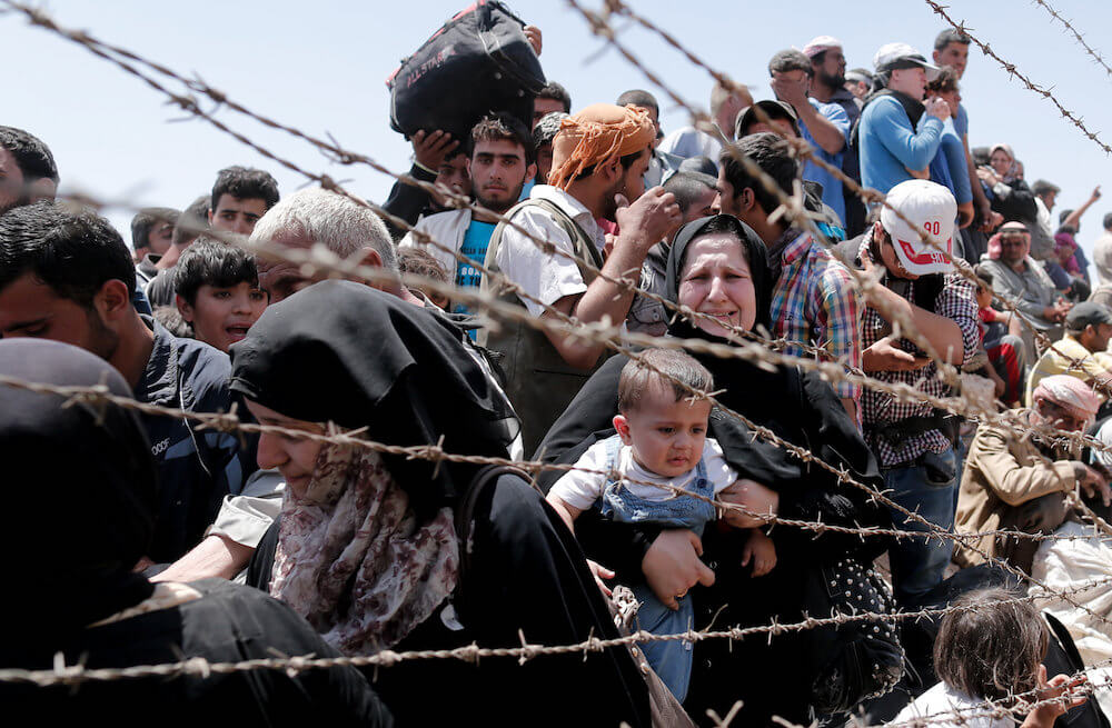 Worst global refugee crisis: US to blame