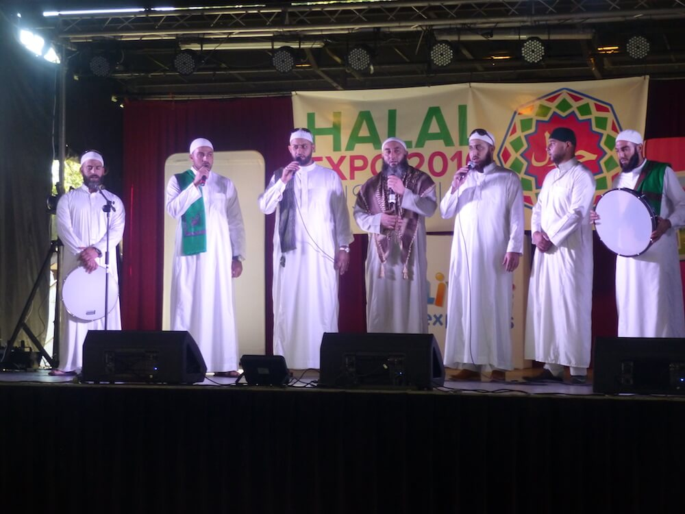 Nasheed Performers at the Halal Expo. Photo by HEA