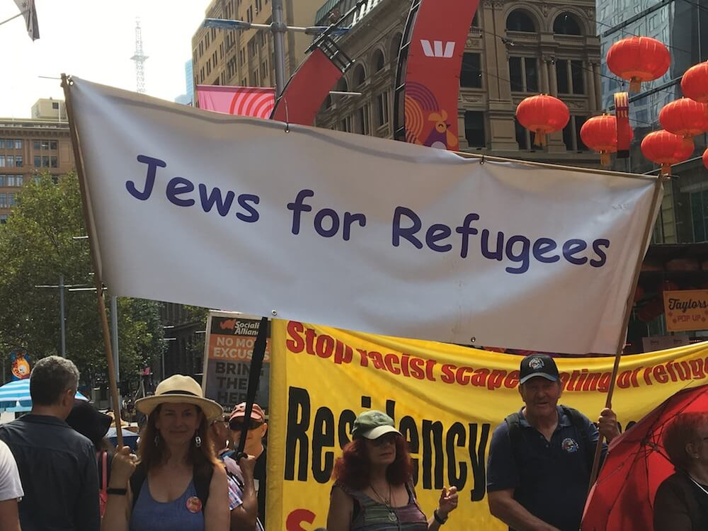 Sydney Hyde Park rally for refugees