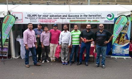 IFAM explains Islam to festival-goers